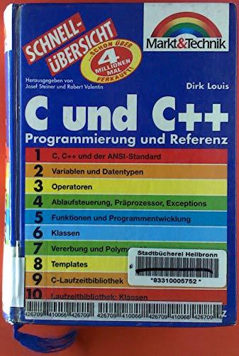 9783827250667: C und C++ Programmierung und Referenz