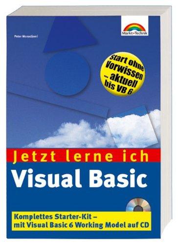 9783827254993: Visual Basic Jetzt lerne ich...: Der einfache Einstieg in die Windows-Programmierung