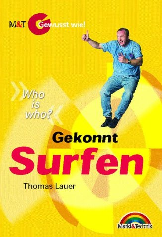 9783827256683: Gekonnt Surfen. Who is who