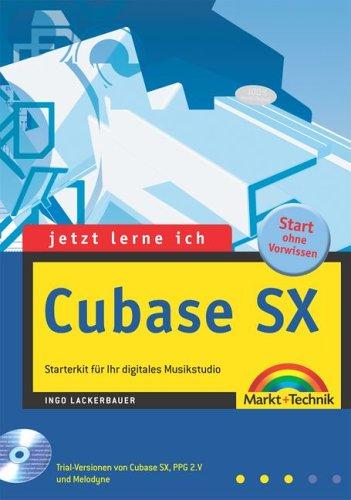 9783827258076: Jetzt lerne ich Cubase SX, m. CD-ROM