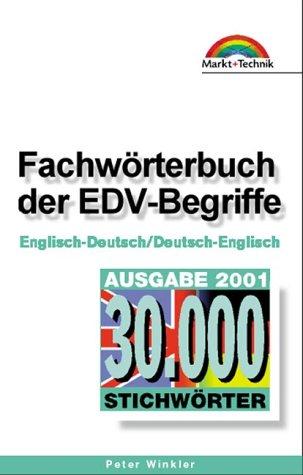 9783827259325: Fachwörterbuch der EDV-Begriffe . Englisch-Deutsch / Deutsch-Englisch (Office Einzeltitel)