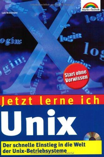 9783827262400: Jetzt lerne ich Unix.
