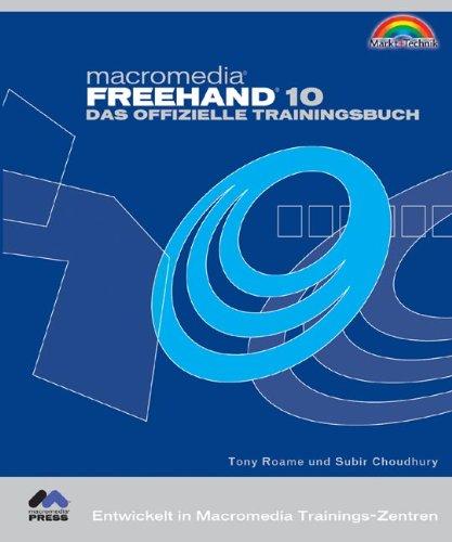 9783827262455: Macromedia Freehand 10. Das offizielle Trainingsbuch.