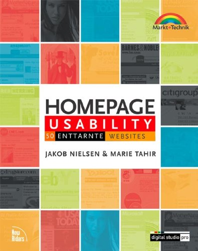 9783827262905: Homepage Usability. 50 enttarnte Websites