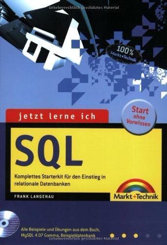 9783827263360: Jetzt lerne ich SQL.
