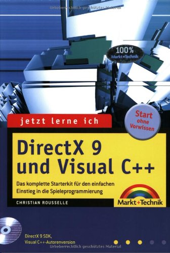 9783827264541: Jetzt lerne ich DirectX 9 und Visual C++.