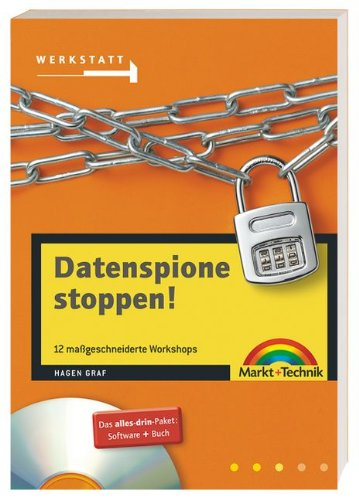 9783827264930: Datenspione stoppen!