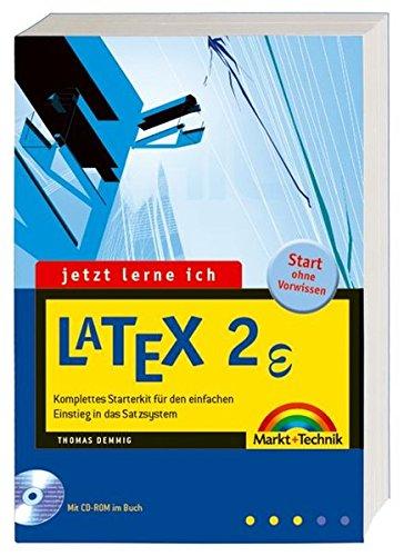 9783827265173: Jetzt lerne ich LaTeX 2: Komplettes Starterkit für den einfachen Einstieg in das Satzsystem