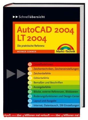 9783827266132: Schnellübersicht AutoCAD 2004 / LT 2004.