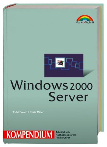 9783827266675: Windows 2000 Server- Kompendium.