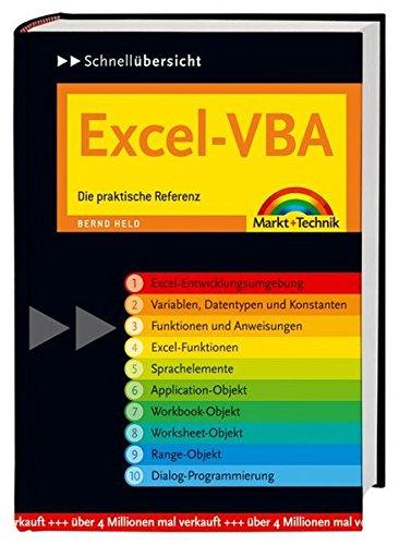 9783827267450: Excel-VBA Schnellübersicht: Die praktische Referenz