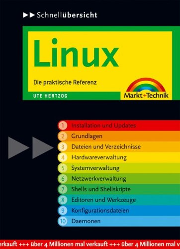 9783827267528: Schnellübersicht Linux: Die praktische Referenz