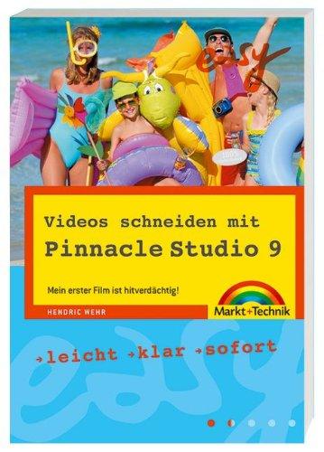 9783827267597: Videos schneiden mit Pinnacle Studio 9.