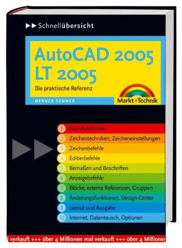 9783827268143: Schnellübersicht AutoCAD 2005 / LT 2005