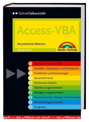 9783827268150: Access-VBA Schnellübersicht.
