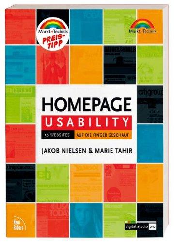 9783827268471: Homepage Usability