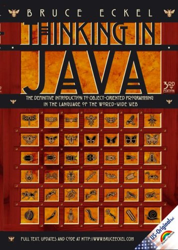 9783827268969: Thinking in Java: The definitive Introduction to object-oriented Progamming in the Langueage of the World Wide Web