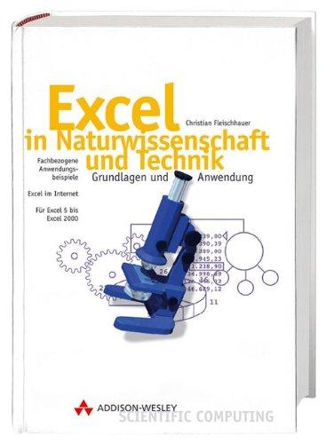 9783827315335: Excel in Naturwissenschaft und Technik, m. CD-ROM