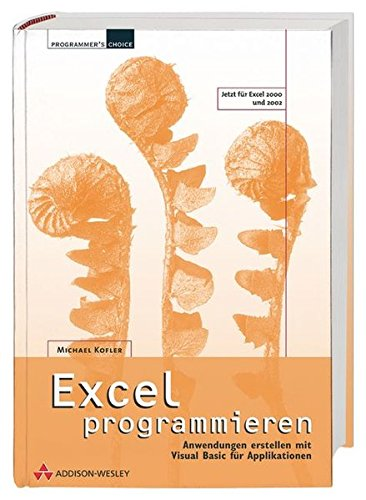 9783827320216: Excel programmieren.