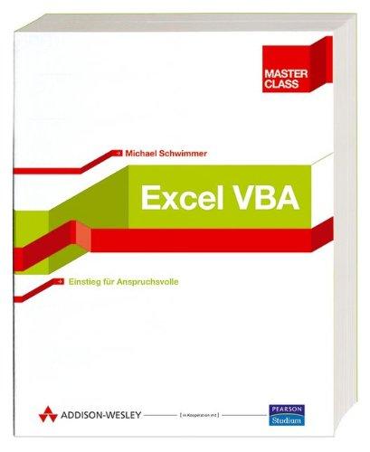 9783827321831: Excel VBA Master Class