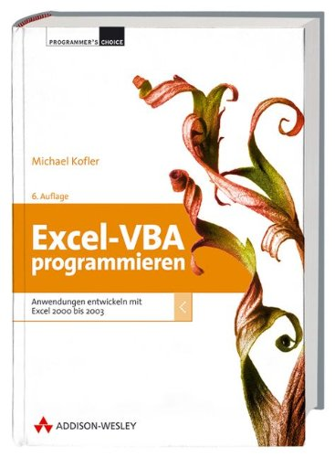 9783827321893: Excel-VBA programmieren