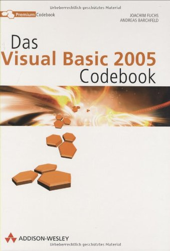 9783827322722: Das VB.NET Premium Codebook