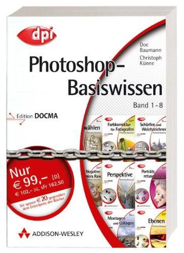 9783827323828: Photoshop-Basiswissen 1 - 8: 8 Bde.