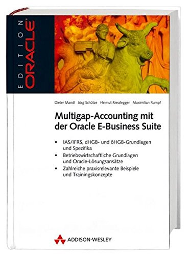 9783827323972: Multigap-Accounting mit der Oracle E-Business-Suite