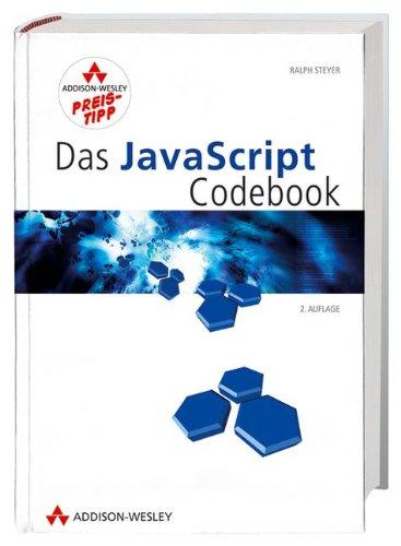 9783827324252: Das Javascript Codebook