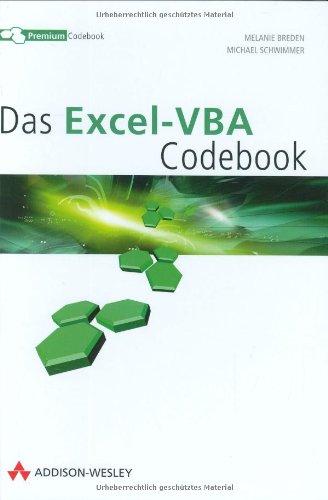 9783827324719: Das Excel-VBA Premium Codebook