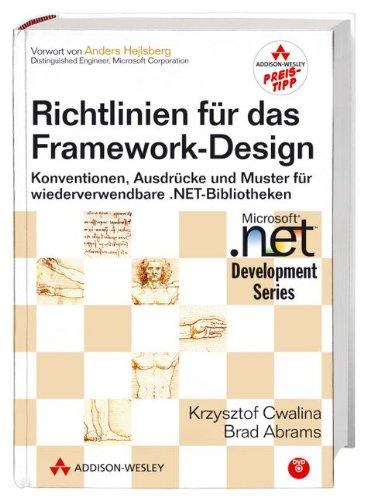 9783827326263: Richtlinien für das Framework-Design