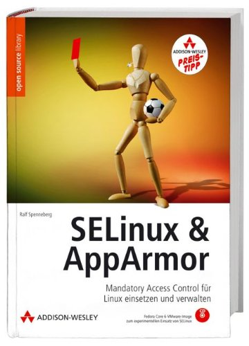 9783827327642: SELinux & AppArmor, m. CD-ROM