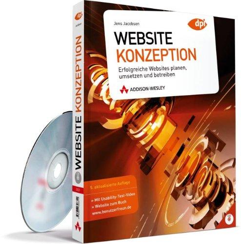 9783827328311: Website-Konzeption: Erfolgreiche Websites planen, umsetzen und betreiben