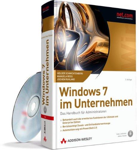 9783827328861: Windows 7 im Unternehmen: Das Handbuch für Administratoren