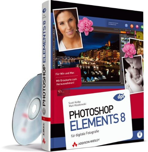9783827329356: Photoshop Elements 8: f�r digitale Fotografie