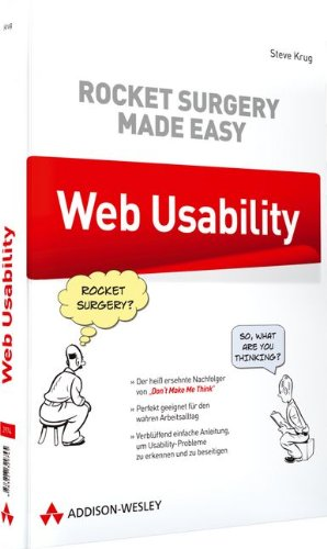 Web Usability: Rocket Surgery Made Easy (9783827329745) by Steve Krug