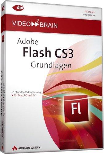 9783827360977: Adobe Flash CS3 - Grundlagen (DVD-ROM)