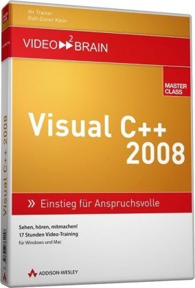 9783827361158: video2brain Visual C++ 2008-Videotraining