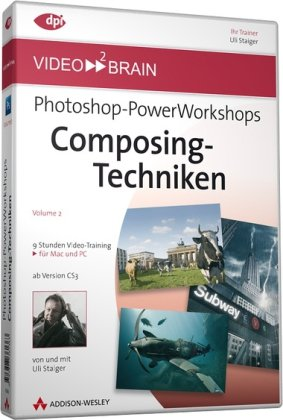 9783827361363: video2brain Photoshop-Powerworkshops 02. Compositing-Techniken