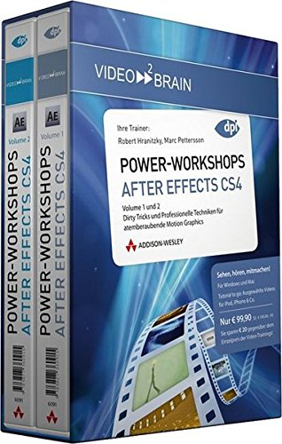 9783827362193: After Effects PowerWorkshops - Volume 1+2