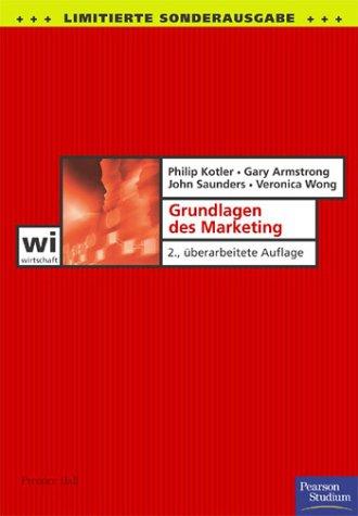 9783827370495: Grundlagen des Marketing (Pearson Studium - Economic BWL)