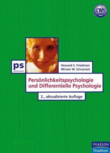 9783827371058: Persoenlichkeitspsychologie und Differentielle Psychologie