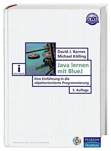 9783827371522: Java lernen mit BlueJ