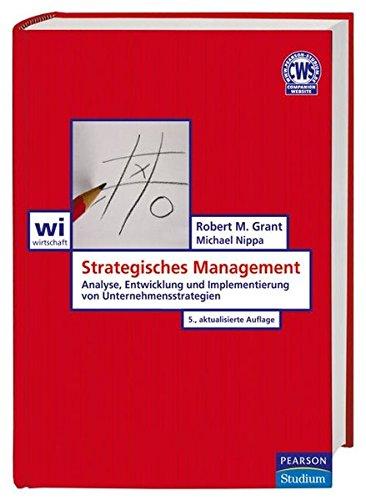 9783827372208: Strategisches Management: Analyse, Entwicklung und Implementierung von Unternehmensstrategien