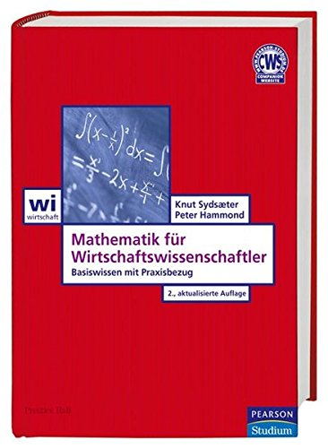 9783827372239: Sydsaeter:Math fur Wirtschafts _p2