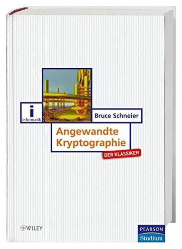 9783827372284: Angewandte Kryptographie: Protokolle, Algorithmen und Sourcecode in C