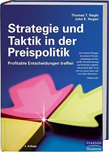 9783827372376: Strategie und Taktik in der Preispolitik: Profitable Entscheidungen treffen