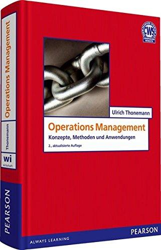 9783827373168: Operations Management