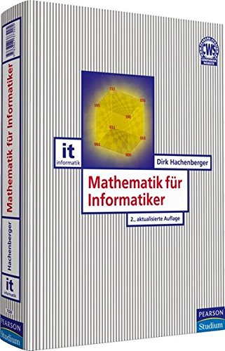 9783827373205: Mathematik f+â-+r Informatiker
