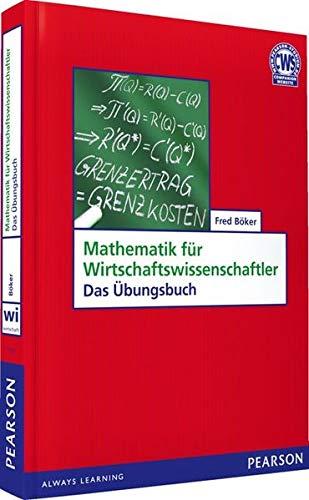 9783827373267: Mathematik für Wirtschaftswissenschaftler. Das Übungsbuch